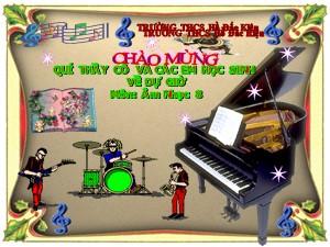 Bài giảng Âm nhạc Lớp 8 - Tiết 4: Học bài hát Lí dĩa bánh bò - Năm học 2020-2021 - Trường THCS Hồ Đắc Kiện