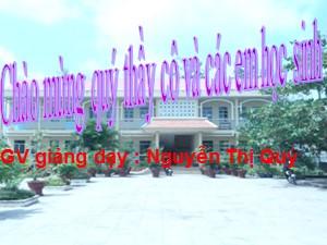 Bài giảng Sinh học Lớp 9 - Bài 13: Di truyền liên kết - Năm học 2017-2018 - Nguyễn Thị Quý