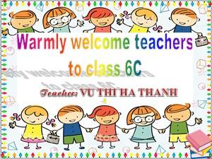 Bài giảng Tiếng anh Lớp 6 - Unit 7: Television - Vũ Thị Hà Thanh