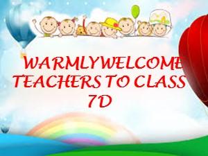 Bài giảng Tiếng anh Lớp 7 - Unit 4, Lesson 5: Skills 1