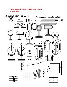 Các hình vẽ phục vụ cho môn Vật lí, Hóa học và Toán học