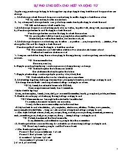 Các công thức Tiếng Anh