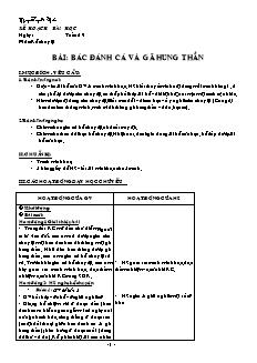 Giáo án Kể chuyện 4 - Tuần 19 đến 25 - GV Nguyễn Tuyết Mai