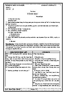 Giáo án Ngữ văn 8 - Trường THCS Vĩnh Hựu