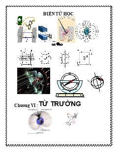 Bìa Vật lý 11 - Chương VI - Từ trường