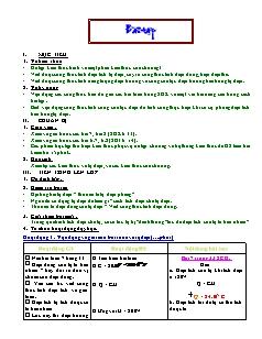 Giáo án Bài tập Vật lý 11 nâng cao - Tiết 10
