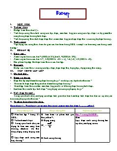Giáo án Bài tập Vật lý 11 nâng cao - Tiết 8