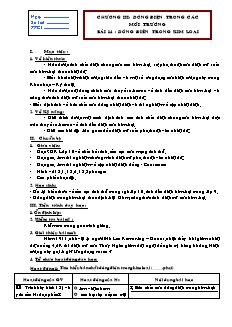 Giáo án Vật lý 11 - Bài 14 - Dòng điện trong kim loại