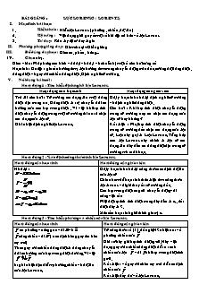 Giáo án Vật lý 11 - Lực Lorenxơ (Lorentz)