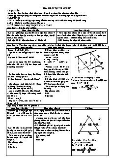 Giáo án Vật lý 11 - Tiết 55 - Bài tập về lực từ