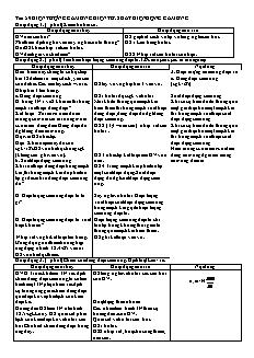 Giáo án Vật lý 11 - Tiết 59 - Hiện tượng cảm ứng điện từ. suất điện động cảm ứng