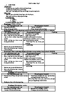 Giáo án Vật lý lớp 11 - Tiết 61 - Bài tập