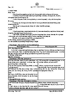 Giáo án Vật lý 11 nâng cao - Chương IV: Từ trường - Nguyễn Xuân Chiến