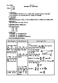 Giáo án Vật lí 11 - Tiết 48 - Bài tập về từ trường
