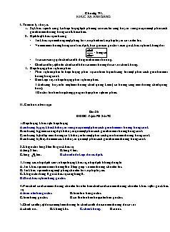 Trắc nghiệm Vật lý 11 có đáp án - Chương IV - Khúc xạ ánh sáng